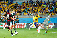 Toni Kroos of Germany scores a goal to make it 0-4
