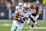 Dallas Cowboys running back Joseph Randle (35) in action during the pre-season game between the Houston Texans and the Dallas Cowboys at the AT & T stadium in Arlington, Texas. Houston leads Dallas 14 to 3 at halftime.