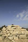 Israel, Shephelah, the pyramid in Hurvat Midras