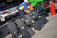 Working on tires