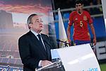 Real Madrid's President Florentino Perez. July 7, 2017. (ALTERPHOTOS/Acero)