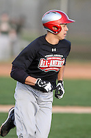 January 17, 2010:  Melvin Garcia (Bronx, NY) of the Baseball Factory Northeast Team during the 2010 Under Armour Pre-Season All-America Tournament at Kino Sports Complex in Tucson, AZ.  Photo By Mike Janes/Four Seam Images