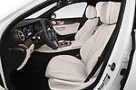 Front seat view of a 2020 Mercedes Benz E-Class  E450 5 Door Wagon front seat car photos