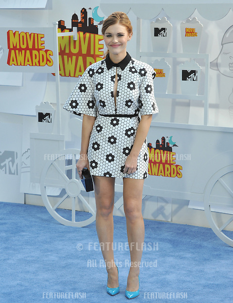 Holland Roden at the 2015 MTV Movie Awards at the Nokia Theatre LA Live.<br /> April 12, 2015  Los Angeles, CA<br /> Picture: Paul Smith / Featureflash