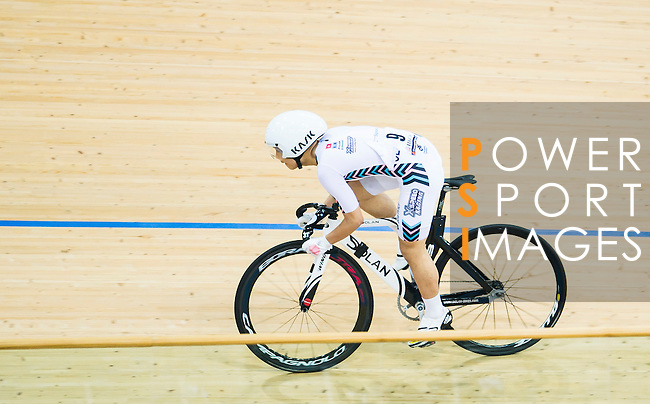 Chow Wan Ho of X SPEED in action during the Youth Qualifying (200M Flying Start) at the Hong Kong Track Cycling Race 2017 Series 5 on 18 February 2017 at the Hong Kong Velodrome in Hong Kong, China. Photo by Marcio Rodrigo Machado / Power Sport Images
