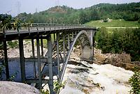 1979 File Photo - Arvida (QC) CANADA- Aluminium Bridge.<br /> <br /> Photo by Pierre Roussel