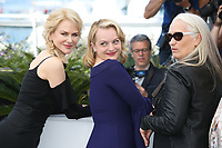 NICOLE KIDMAN, ELISABETH MOSS AND DIRECTOR JANE CAMPION - PHOTOCALL OF 'TOP OF THE LAKE: CHINA GIRL' AT THE 70TH FESTIVAL OF CANNES 2017