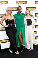 LOS ANGELES - AUG 25:  Bebe Rexha, Kirby Howell-Baptiste, Kristen Bell at the Queenpins Photocall at the Four Seasons Hotel Los Angeles on August 25, 2021 in Los Angeles, CA