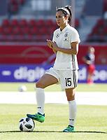 Sara Doorsoun      <br /> /   World Championships Qualifiers women women /  2017/2018 / 07.04.2018 / DFB National Team / GER Germany vs. Czech Republic CZE 180407030 / <br />  *** Local Caption *** © pixathlon<br /> Contact: +49-40-22 63 02 60 , info@pixathlon.de
