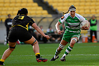 Rhiarna Ferris of the Manawatu during the Farah Palmer Cup Rugby – Wellington v Manawatu at Sky Stadium, Wellington, New Zealand on Friday 25 September 2020. <br /> Photo by Masanori Udagawa. <br /> www.photowellington.photoshelter.com