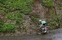Green Jersey / points leader Mark Cavendish (GBR/Deceuninck - Quick Step) descending the Col de la Colombière (1618 m)<br /> <br /> Stage 8 from Oyonnax to Le Grand-Bornand (151km)<br /> 108th Tour de France 2021 (2.UWT)<br /> <br /> ©kramon