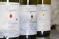 Cuvee L'Exception. Domaine Vaquer. Roussillon. France. Europe. Bottle.