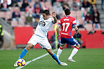 """Granada CF's Joaquin Marin """"Quini"""" and Real Club Deportivo de la Coruña's David Simon  during La Liga 2 match. February 10,2019. (ALTERPHOTOS/Alconada)"""