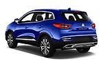 Car pictures of rear three quarter view of 2019 Renault Kadjar Intens 5 Door SUV Angular Rear