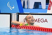 Braedon Jason / Swimming Finals<br />Tokyo Aquatic Centre <br />2020 Tokyo Paralympic Games<br />Paralympics Australia / Day 10<br />Tokyo Japan :   September 3 2021<br />© Sportshoot / Delly Carr / PA