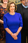 King Felipe VI of Spain attends audience with the President of United States House of Representatives Nancy Pelosi.December 03, 2019.<br /> (ALTERPHOTOS/Francis Gonzalez)