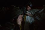 UKRAINE, Shyrokyne:The shelter to avoid to be hit by shrapnel is just big enough for the 12 soldiers of the trenches. <br /> <br /> UKRAINE, Shyrokyne: L'abri pour éviter d'être touché par des éclats d'obus est juste assez grand pour les 12 soldats de la tranchées de Shyrokyne.