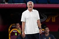 3rd October 2021; Stadio Olimpico, Rome, Italy; Serie A football, AS Roma versus Empoli; Roma trainer Jose Mourinho
