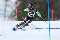 20th February 2021; Cortina d'Ampezzo, Italy; FIS Alpine World Ski Championships, Women's Slalom; Piera HUDSON (NZL)