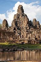 Cambodia, Bayon Temple, late 12th-13th. Century.