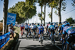 The lead group during Stage 7 of Tour de France 2020, running 168km from Millau to Lavaur, France. 4th September 2020.<br /> Picture: ASO/Pauline Ballet | Cyclefile<br /> All photos usage must carry mandatory copyright credit (© Cyclefile | ASO/Pauline Ballet)