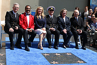 LOS ANGELES - MAY 10:  Fred Grandy, Ted Lange, Jill Whelan, Gavin MacLeod, Lauren Tewes, Bernie Kopell at the Princess Cruises Receive Honorary Star Plaque as Friend of the Hollywood Walk Of Fame at Dolby Theater on May 10, 2018 in Los Angeles, CA