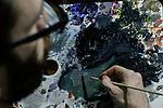 "Colombian artist Roberto Montoya exhibits part of ""Hi-Fi"" series in New York"
