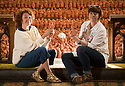 """19/06/18<br /> <br /> ***With Video***<br /> <br /> Sarah Heaton (left) and Helen Cammiss.<br /> <br /> A terracotta army of football players and supporters has been unveiled just in time to celebrate England's World Cup win on Monday night. <br /> <br /> The 5000 figures, known as Our Game, depict the Shrovetide game - where it is thought the modern game of football has its roots. <br /> <br /> More than 3000 people in Ashbourne, Derbyshire helped to make the pieces that make up the stunning, Arts Council-funded, artwork in the town's St Oswald's Church.<br /> <br /> Sarah Heaton (left) and Helen Cammiss from 'The Clayrooms' spent a week arranging the display where the ball is seen above the players in the centre (or hug as it's known) of the game. """"This is a community project involving clay - the Shrovetide game is one thing that unites the community - it's embodied in everyone and unites the town"""" said Sarah.<br /> <br /> All Rights Reserved: F Stop Press Ltd. +44(0)1335 344240  www.fstoppress.com www.rkpphotography.co.uk"""