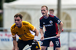 Krefeld, Germany, August 28: During the men semi-final fieldhockey match between Mannheimer HC  and Harvestehuder THC on August 28, 2021 at the 1. Liga-Cup at Crefelder HTC in Krefeld, Germany. (Photo by Dirk Markgraf / www.265-images.com) *** Local caption ***