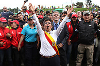 BOGOTÁ - COLOMBIA, 1-01-2020:Posesión de Claudia López como la  nueva alcaldesa de Bogotá ,es la primera mujer en ocupar el segundo cargo mas imporante del país./<br /> Possession of Claudia López as the new mayor of Bogotá, is the first woman to occupy the second most important position in the country.. Photo: VizzorImage / Felipe Caicedo / Satff