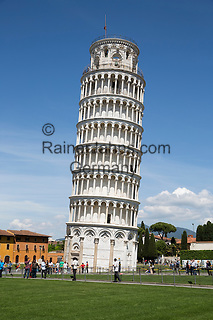 Italy, Tuscany, Pisa: The Leaning Tower of Pisa | Italien, Toskana, Pisa: der Schiefe Turm von Pisa