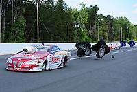 May 6, 2012; Commerce, GA, USA: NHRA pro stock driver Greg Anderson after winning the Southern Nationals at Atlanta Dragway. Mandatory Credit: Mark J. Rebilas-