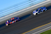 Monster Energy NASCAR Cup Series<br /> Daytona 500<br /> Daytona International Speedway, Daytona Beach, FL USA<br /> Sunday 18 February 2018<br /> Denny Hamlin, Joe Gibbs Racing, FedEx Express Toyota Camry, Alex Bowman, Hendrick Motorsports, Nationwide Chevrolet Camaro<br /> World Copyright: Logan Whitton<br /> LAT Images