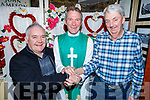 Martin Farrell and Eddie Wall say 'I Do' in the Brogue Inn, all in aid of Kerry Cancer Support Group on Friday night with Vinny Murphy giving them his blessing