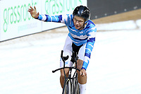 Aaron Gate competes in the Elite Men 4000m during the 2020 Vantage Elite and U19 Track Cycling National Championships at the Avantidrome in Cambridge, New Zealand on Thursday, 23 January 2020. ( Mandatory Photo Credit: Dianne Manson )