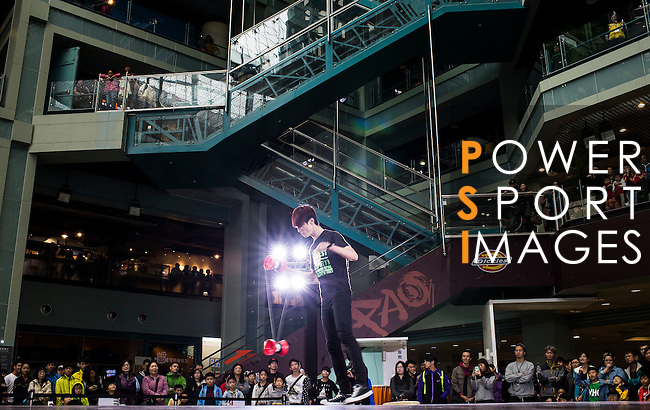 Athlete in action during the Red Bull PAO 2015 at the National Taiwan Science Education Centre in Taipei, Taiwan. Photo by Aitor Alcalde / Power Sport Images