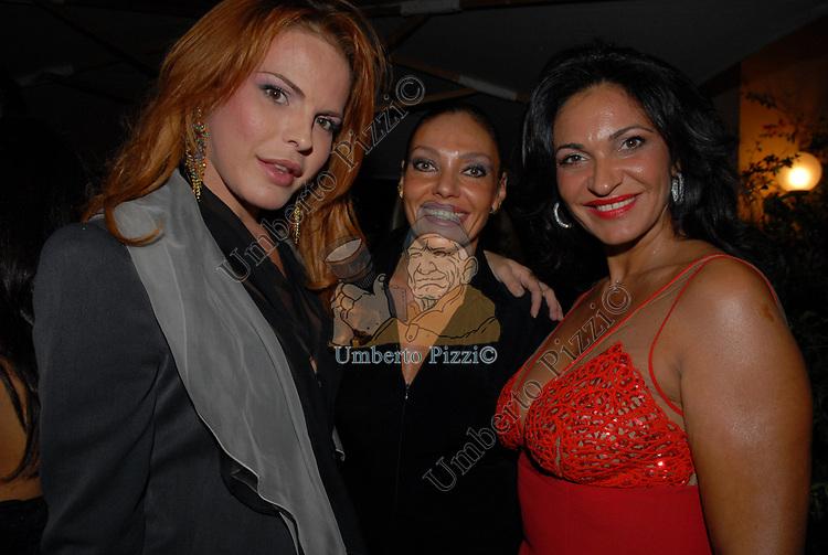 GIOIA SCOLA E ROSA MIRANDA<br /> PARTY DI PAOLO PAZZAGLIA<br /> PALAZZO FERRAJOLI ROMA 2009