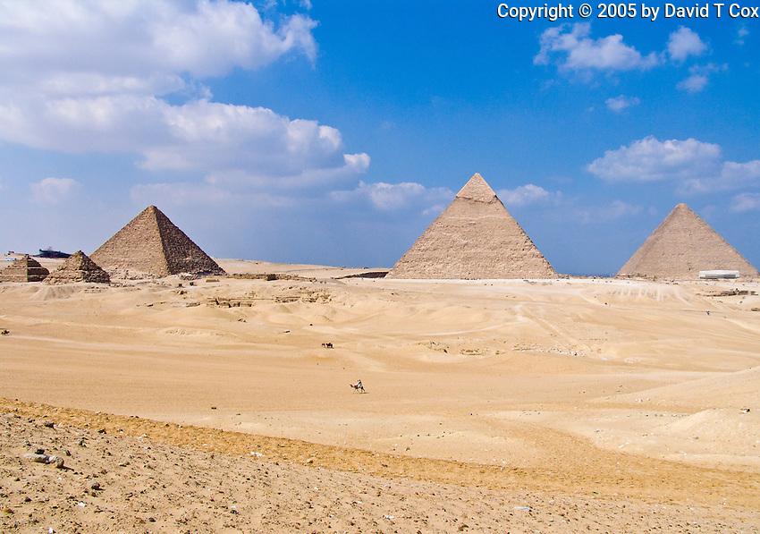 Great Pyramids of Giza, Egypt