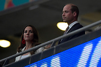 Catherine Middleton and Prince William during the Uefa Euro 2020 Final football match between Italy and England at Wembley stadium in London (England), July 11th, 2021. Photo Andrea Staccioli / Insidefoto