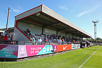 General view of the ground during Arsenal Ladies vs Manchester City Women, FA Women's Super League FA WSL1 Football at Meadow Park on 11th September 2016