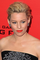 """NEW YORK, NY - NOVEMBER 20: Elizabeth Banks at the New York Premiere Of Lionsgate's """"The Hunger Games: Catching Fire"""" held at AMC Lincoln Square Theater on November 20, 2013 in New York City. (Photo by Jeffery Duran/Celebrity Monitor)"""