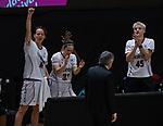 Copa de la Reina de Baloncesto 2021.<br /> Lointek Gernika - Ciudad de la Laguna Tenerife.<br /> 5 de marzo de 2021.<br /> Valencia - España.