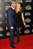 NEW YORK CITY, NY, USA - DECEMBER 08: John Hamm, Jennifer Westfeldt arrive at the World Premiere Of Walt Disney Pictures' 'Into The Woods' held at the Ziegfeld Theatre on December 8, 2014 in New York City, New York, United States. (Photo by Celebrity Monitor)