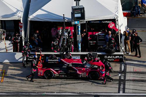 #60: Meyer Shank Racing w/Curb-Agajanian Acura DPi, DPi: Olivier Pla, AJ Allmendinger, Dane Cameron, Juan Pablo Montoya, Pit Stop
