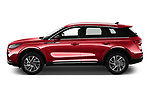 Car Driver side profile view of a 2021 Lincoln Corsair - 5 Door SUV Side View