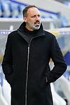 Pellegrino Matarazzo (Trainer, Cheftrainer, VfB), Einzelbild, Aktion, Action, vor dem Spiel, 21.11.2020, Sinsheim  (Deutschland), Fussball, Bundesliga, TSG 1899 Hoffenheim - VfB Stuttgart, DFB/DFL REGULATIONS PROHIBIT ANY USE OF PHOTOGRAPHS AS IMAGE SEQUENCES AND/OR QUASI-VIDEO. <br /> <br /> Foto © PIX-Sportfotos *** Foto ist honorarpflichtig! *** Auf Anfrage in hoeherer Qualitaet/Aufloesung. Belegexemplar erbeten. Veroeffentlichung ausschliesslich fuer journalistisch-publizistische Zwecke. For editorial use only.