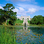 Ireland, County Wicklow, 20 Km sueldich von Dublin bei Enniskerry: Powerscourt House & Gardens | Irland, County Wicklow, 20 Km sueldich von Dublin bei Enniskerry: Powerscourt House & Gardens