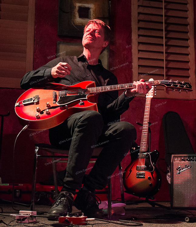 Nels Cline playing with Julian Lage at Ironworks, June 26, 2014 TD Vancouver International Jazz Festival