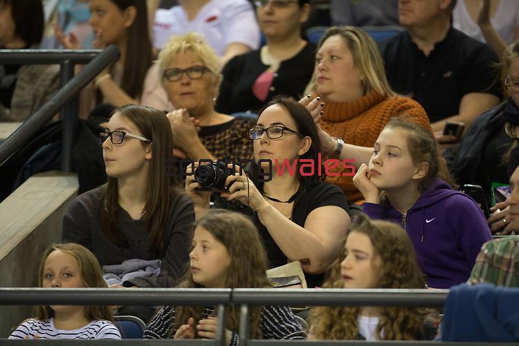 British Gymnastics Championships 2017<br /> The Liverpool Echo Arena<br /> 25.03.17<br /> ©Steve Pope - Sportingwales