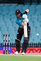 13th March 2020, Sydney Cricket Ground, Sydney, Australia;  Martin Guptill of the Blackcaps batting. International One Day Cricket. Australia versus New Zealand Blackcaps, Chappell–Hadlee Trophy, Game 1.